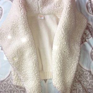 Gymboree fuzzy vest